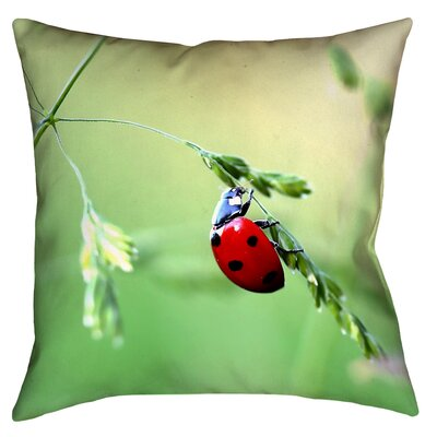Duriel Double Sided Print Throw Pillow Size: 18 x 18