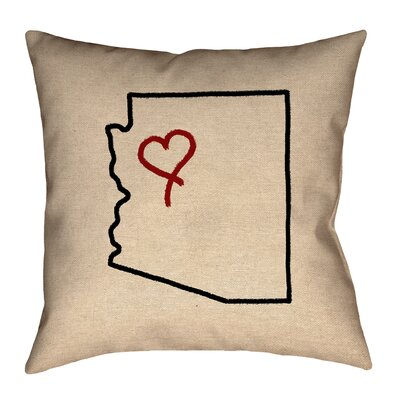Genibrel Square Arizona Map Canvas