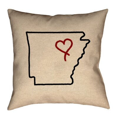 Austrinus Arizona Heart Canvas