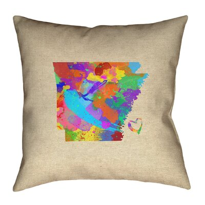 Genibrel Arizona Map Canvas