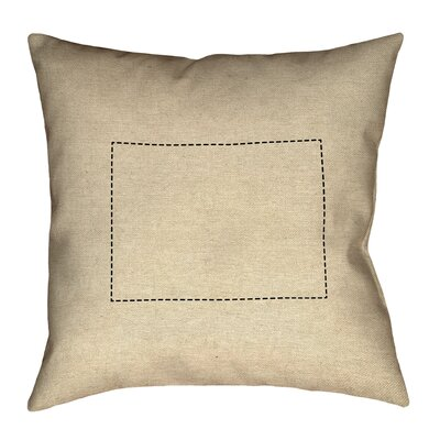 Austrinus Colorado Dash Outline Pillow