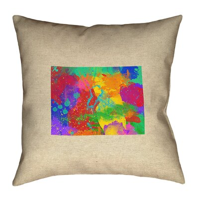 Austrinus Colorado Watercolor Pillow