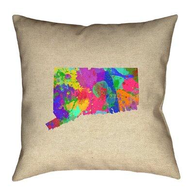 Austrinus Connecticut Watercolor Pillow