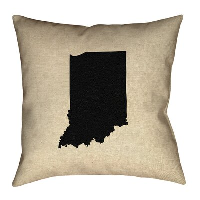 Kirkley Indiana Canvas Pillow