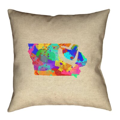 Austrinus Love Watercolor Pillow