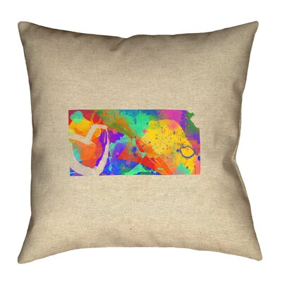 Austrinus Square Double Sided Print Pillow with Zipper