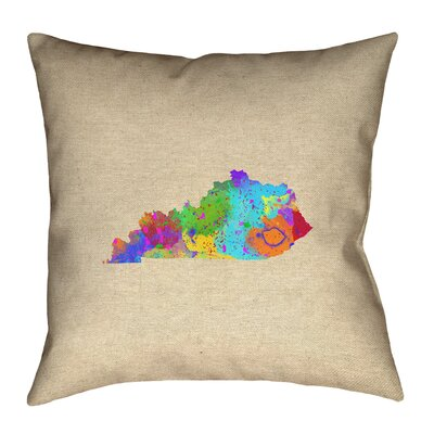 Austrinus Square Double Sided Print Pillow with Concealed Zipper