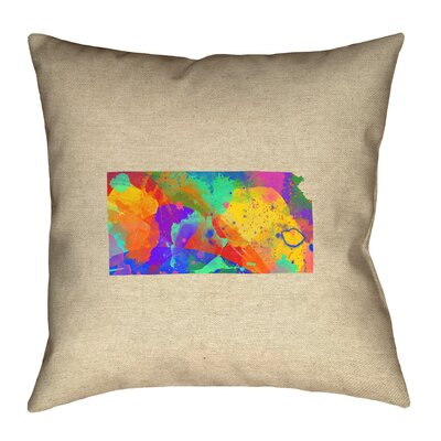 Austrinus Double Sided Print Pillow with Concealed Zipper