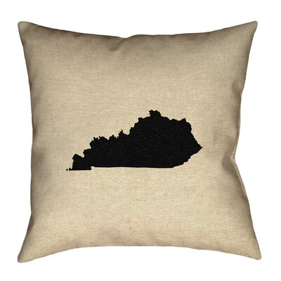 Austrinus Kentucky Print Pillow