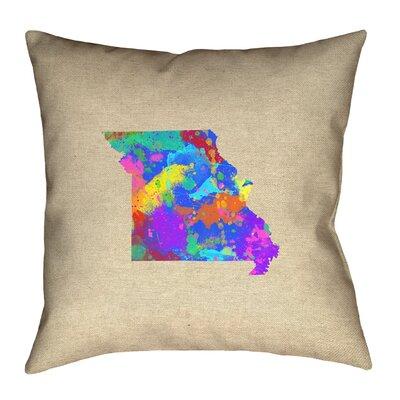 Austrinus Missouri Watercolor Pillow