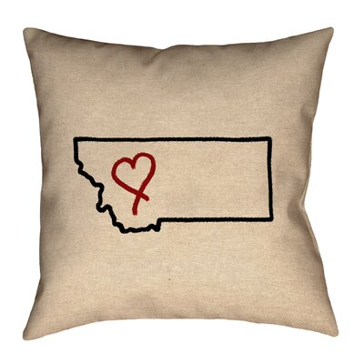 Austrinus Montana Love Outline Pillow