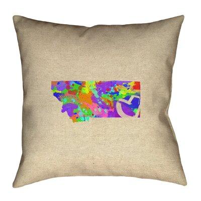 Austrinus Montana Love Watercolor Pillow