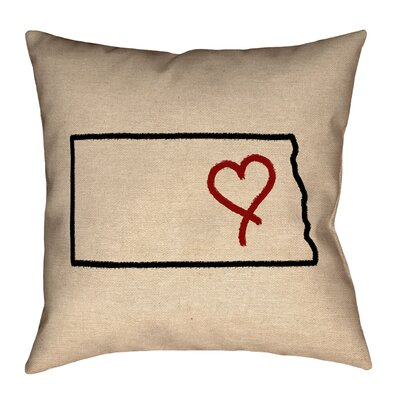 Austrinus North Dakota Love Pillow