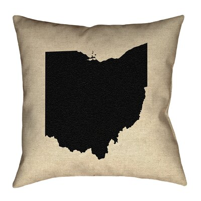 Austrinus Ohio Outline Pillow