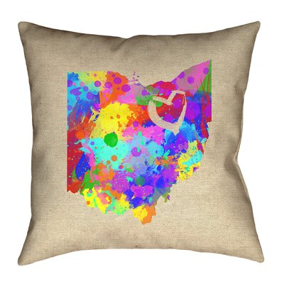 Austrinus Ohio Love Pillow