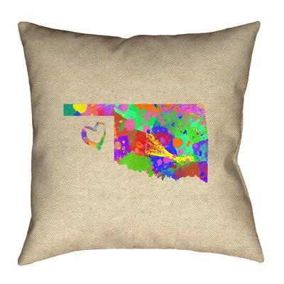 Austrinus Oklahoma Love Pillow