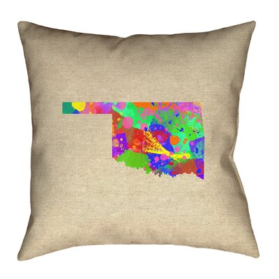 Austrinus Oklahoma Square Pillow