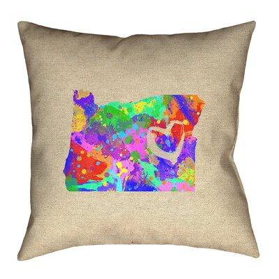 Austrinus Oregon Love Pillow