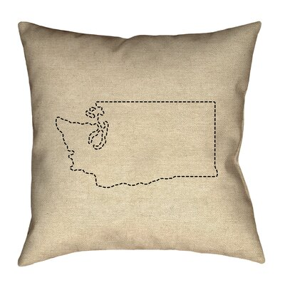 Sherilyn Washington Outdoor Throw Pillow Size: 16
