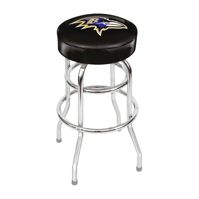 NFL 30 Swivel Bar Stool NFL Team: Baltimore Ravens