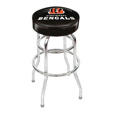 NFL 30 Swivel Bar Stool NFL Team: Cincinnati Bengals
