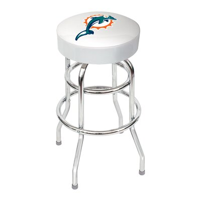 NFL 30 Swivel Bar Stool NFL Team: Miami Dolphins