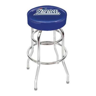 NFL 30 Swivel Bar Stool NFL Team: New England Patriots