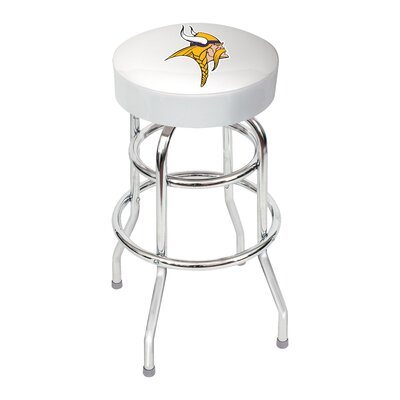 NFL 30 Swivel Bar Stool NFL Team: Minnesota Vikings