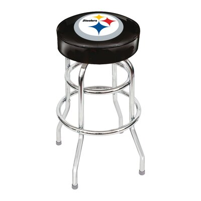 NFL 30 Swivel Bar Stool NFL Team: Pittsburgh Steelers