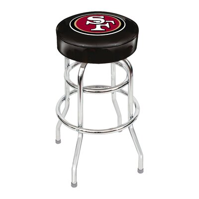 NFL 30 Swivel Bar Stool NFL Team: San Francisco 49ers