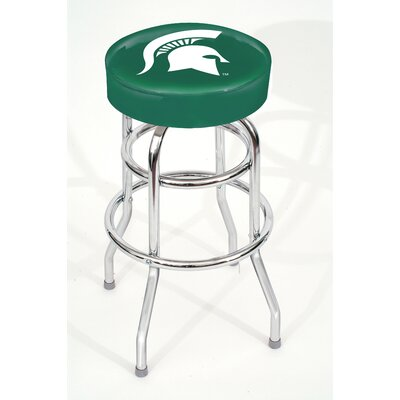NCAA 30 Swivel Bar Stool NCAA Team: Michigan State