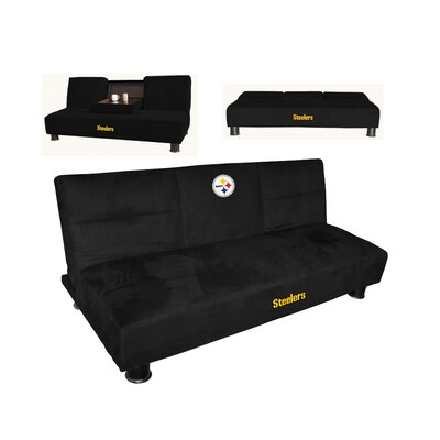 NFL Convertible Sofa NFL Team: Pittsburgh Steelers