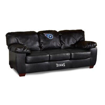 NFL Classic Leather Sofa NFL Team: Tennessee Titans