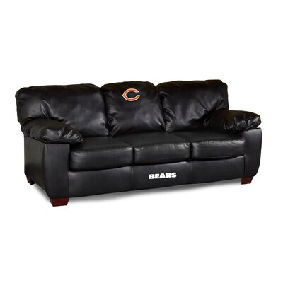 NFL Classic Leather Sofa NFL Team: Chicago Bears