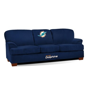 NFL First Team Sofa NFL Team: Miami Dolphins