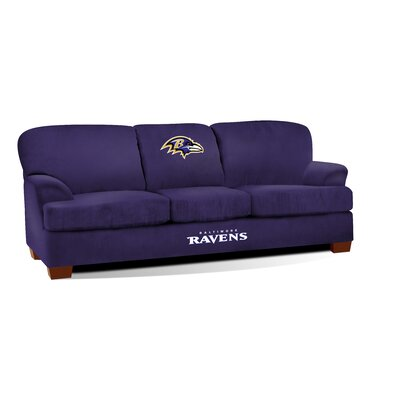 NFL First Team Sofa NFL Team: Baltimore Ravens