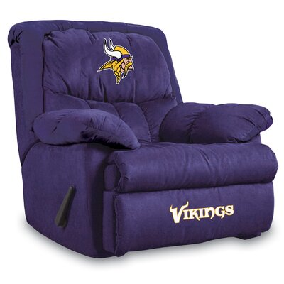 NFL Manual Recliner NFL Team: Minnesota Vikings