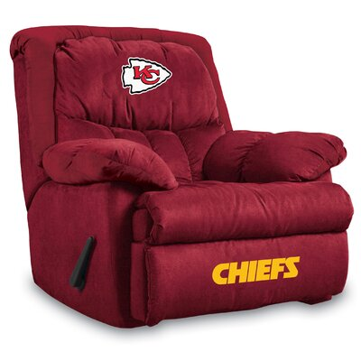 NFL Manual Recliner NFL Team: Kansas City Chiefs