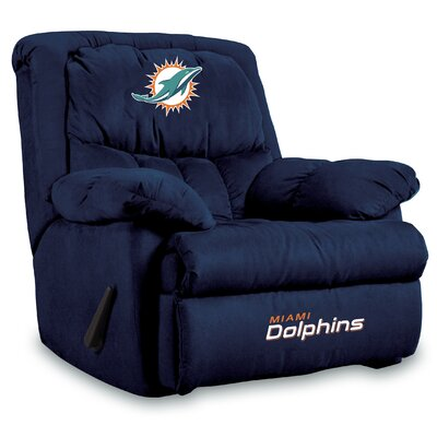 NFL Manual Recliner NFL Team: Miami Dolphins