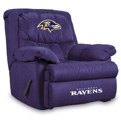 NFL Manual Recliner NFL Team: Baltimore Ravens