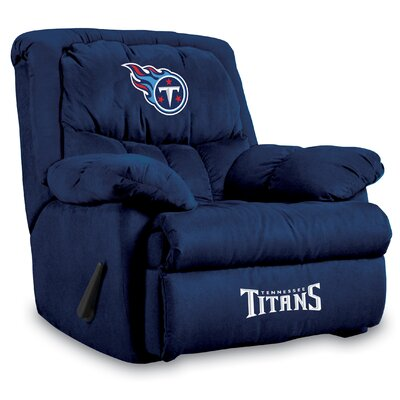 NFL Manual Recliner NFL Team: Tennesse Titans