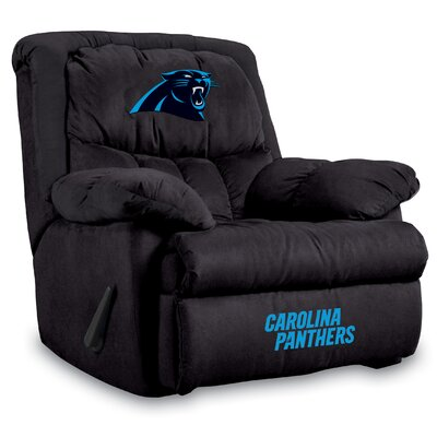NFL Manual Recliner NFL Team: Carolina Panthers