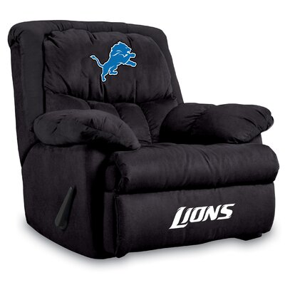 NFL Manual Recliner NFL Team: Detroit Lions
