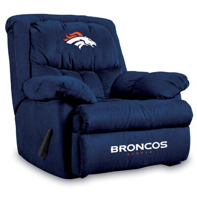 NFL Manual Recliner NFL Team: Denver Broncos