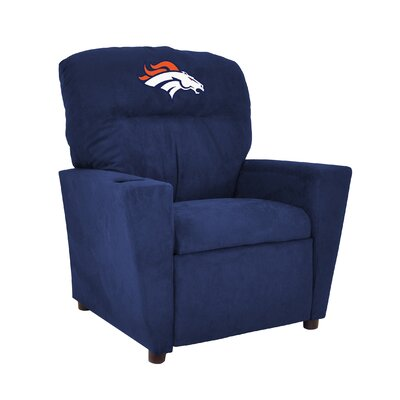 NFL Kids Recliner with Cup Holder 106-1002