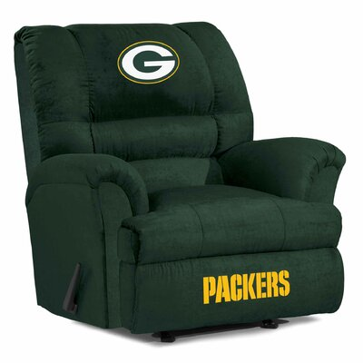 NFL Big Daddy Manual Recliner NFL Team: Green Bay Packers