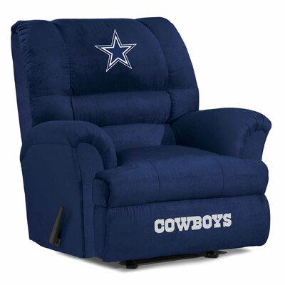 NFL Big Daddy Manual Recliner NFL Team: Dallas Cowboys