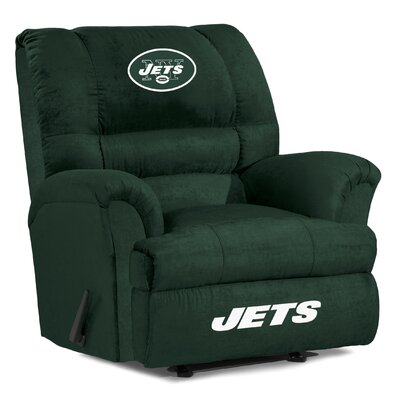 NFL Big Daddy Manual Recliner NFL Team: New York Jets