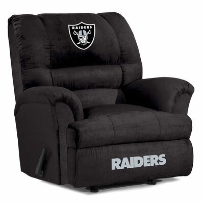 NFL Big Daddy Manual Recliner NFL Team: Oakland Raiders