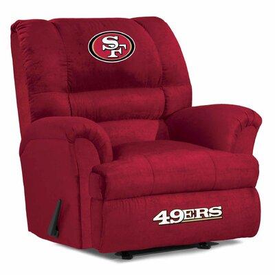 NFL Big Daddy Manual Recliner NFL Team: San Francisco 49ers